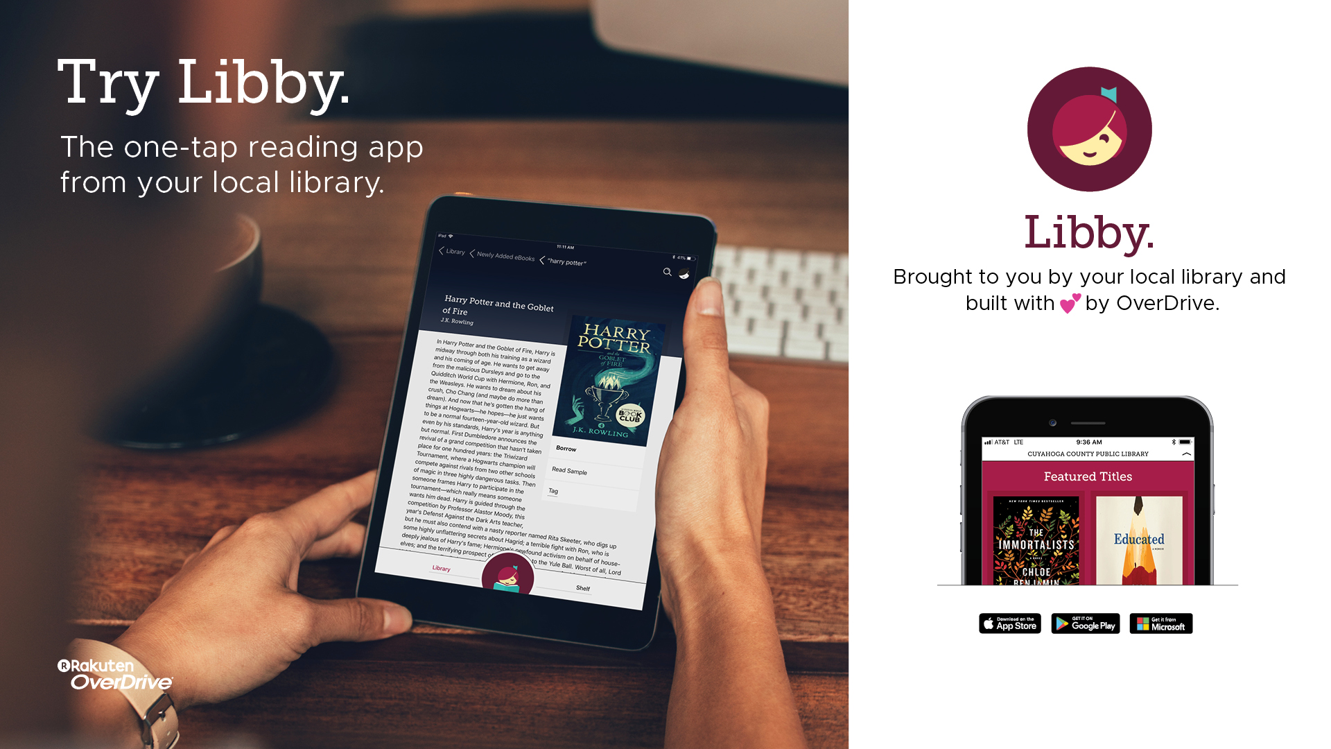 Try Libby the Overdrive eBook app