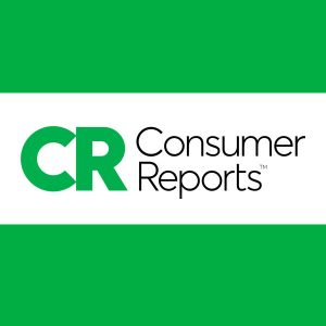 consumer reports logo on green background