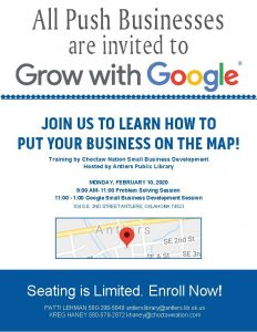 All Push Business are invited to Grow with Google