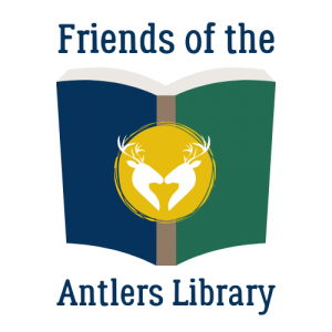 Friends of the Antlers Library logo