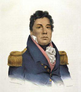 Chief Pushmatah, 1824